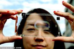 Воплощение фантастической задумки - первый в мире прозрачный смартфон