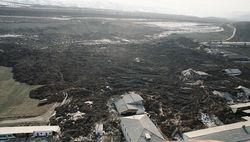 Жители Галлаарала, пострадавшие от стихии, до сих пор на улице