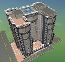 В Алматы на крыше высотки хотят построить бассейн