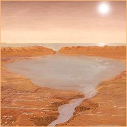 На Марсе нашли следы пресной и нейтральной воды