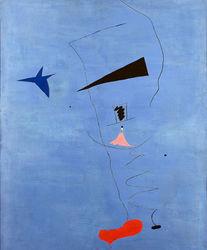 На торги Sotheby's выставлено полотно Х.Миро «Голубая звезда»