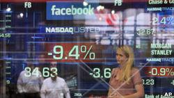 После отмены моратория на сделки упали на 3,75 процентов акции Facebook