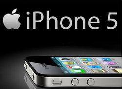 Презентованный вчера iPhone5 в России официально появится в декабре