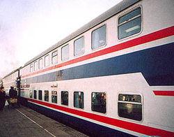 В Украине вскоре появятся двухэтажные поезда