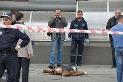 Место убийства бизнесмена Геннадия Аксельрода