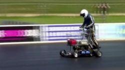 Новый мировой рекорд скорости для тележки из супермаркета – 70 км в час