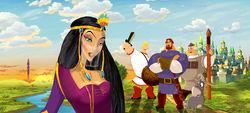 Мультфильм «Три богатыря и Шамаханская царица» глазами экспертов и Одноклассники