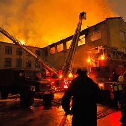 В России горела психиатрическая больница, - 38 погибших