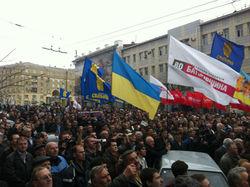 Организаторов акций протеста в Украине подвергают репрессиям