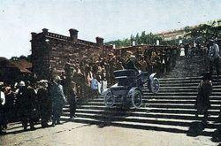 ТОП видео Youtube: спуск Таврии по Потемкинской лестнице