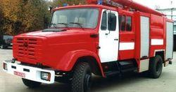 На трассе Киев-Чоп горел грузовик с химикатами