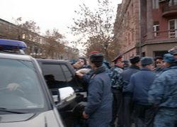 Армянские правоохранители