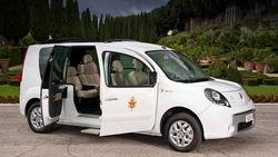 Renault Kangoo Maxi Z.E. для Папы Римского