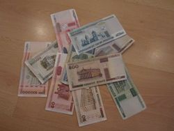 Белорусский рубль укрепился к евро, фунту и швейцарскому франку