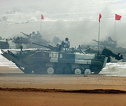Войска Китая переброшены в район границы КНДР