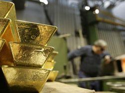 Первый раз за месяц цена на золото на COMEX составила менее 1740 долл./унция