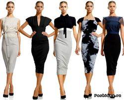 Новая коллекция одежды от Виктории Бэкхем