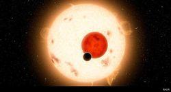 Астрономы впервые увидели планету с четырьмя солнцами