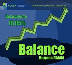 Индекс ПАММ Balance – как получать до 180% дохода