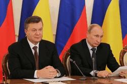 СМИ спровоцировали Путина и Януковича на незапланированный брифинг
