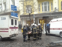 В центре Киева в ресторане взорвался баллон с газом, есть пострадавшие