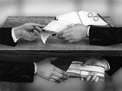 Отчет об уровне коррупции опубликовали в Украине