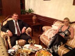 Анастасия Волочкова и Тарон Маргарян