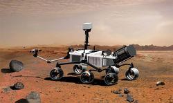 Космическая реклама: марсоход Curiosiry презентует... песню