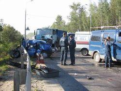 В Подмосковье блокировано Дмитровское шоссе из-за ДТП - последствия