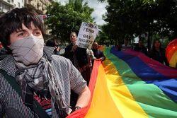 Арестами завершился несанкционированный гей-парад в Москве
