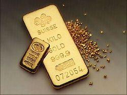 Национальным банком Украины на 0,01 процент с 15 октября был понижен курс золота