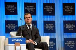 Медведев в Давосе. Каковы прогнозы будущего России