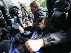 В Германии полиция разогнала  шествие антиглобалистов