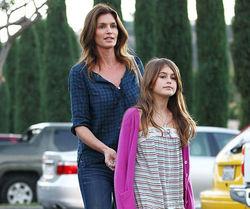 Дочь Синди Кроуфорд не уступает знаменитой маме по привлекательности