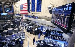 Американские фондовые индексы под закрытие перешли в зелёную зону