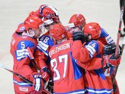 Сборная России по хоккею всухую обыграла сборную Чехии