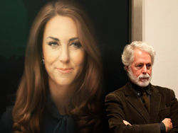 В Facebook и Twitter обсуждают первый официальный портрет Кейт Миддлтон