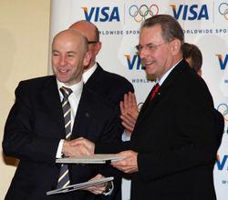 Visa получила монополию на Олимпийских играх до 2020 г.