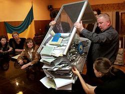 ЦИК Украины подсчитал почти 50 процентов голосов - лидерство регионалов падает