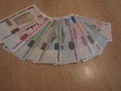 Как меняется курс белорусского рубля ?
