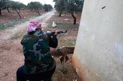 Погиб один из лидеров сирийских повстанцев