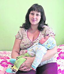 Алена Драник с сыном
