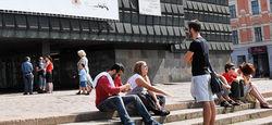 Центр Риги блокирован – саперы ищут бомбу в Музее оккупации