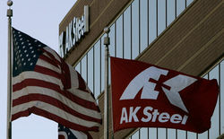 За третий квартал убыток Ak Steel составил около 60,9 млн. долл.