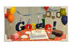 А Google-то тинейджер - ему всего 14 лет! Нарру birthday!