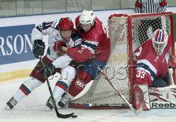 Сборная команда России по хоккею обыграла норвежцев