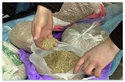 В Кашкадарьинской области правоохранители перехватили 50 кг сырого опия и героина