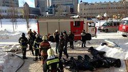 Причина пожара в московской высотке Gazoil City – газовая кухонная плита