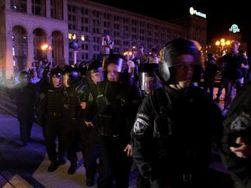 При разгоне Врадиевского марша на Майдане заодно избили журналистов