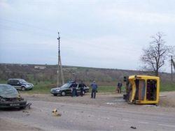 На Одессчине в ДТП попал рейсовый автобус